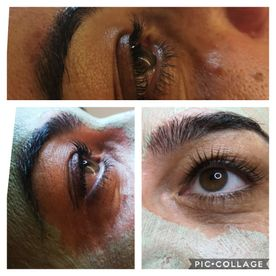 Wimpern Lash Lifting